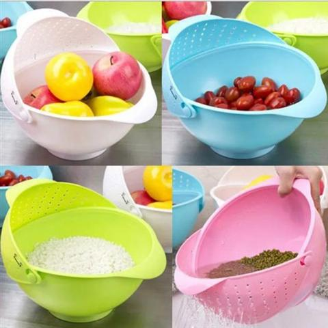 Fruit Strainer Basket Two in One