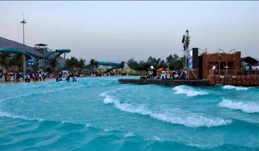 Water Park Huge Waves
