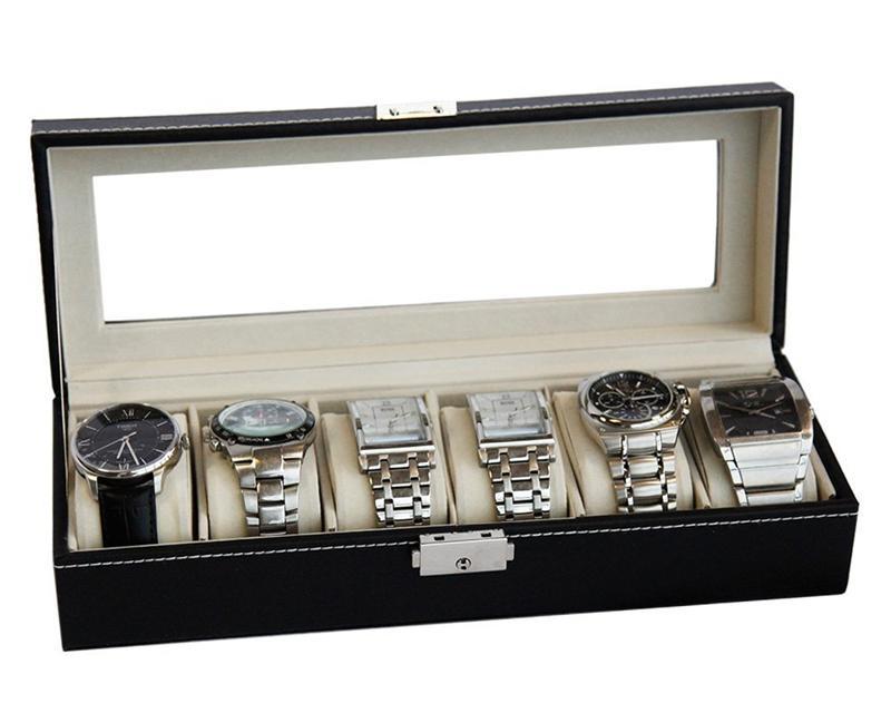 6 Slots Watch Box