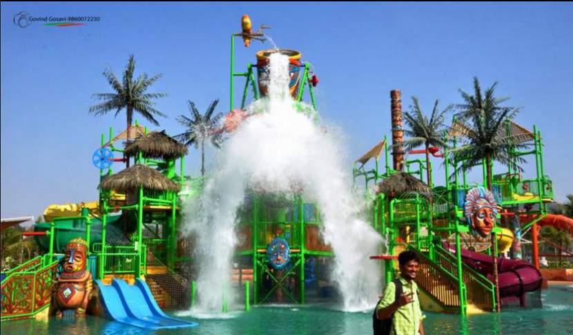 Castle Water Splash