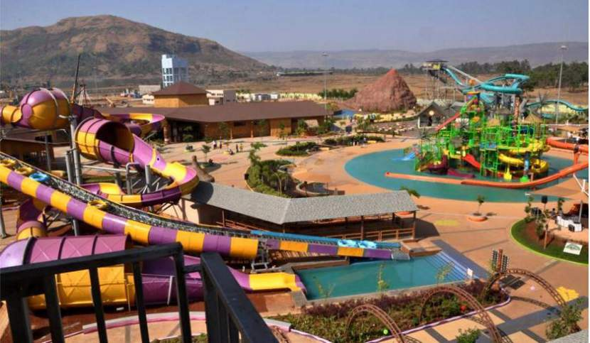 Aerial View From Rides