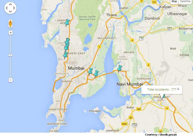 Accident Locations Stations