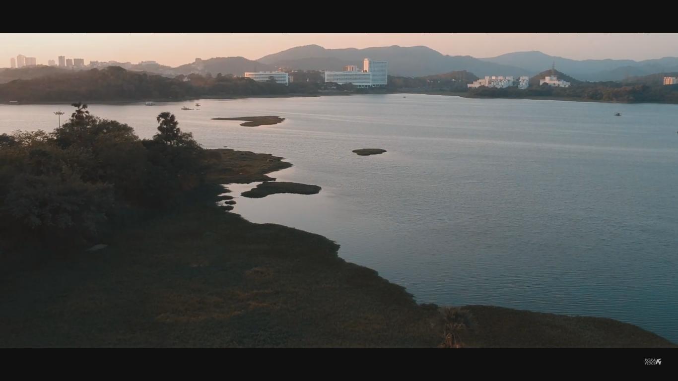 Aerial View Powai Lake