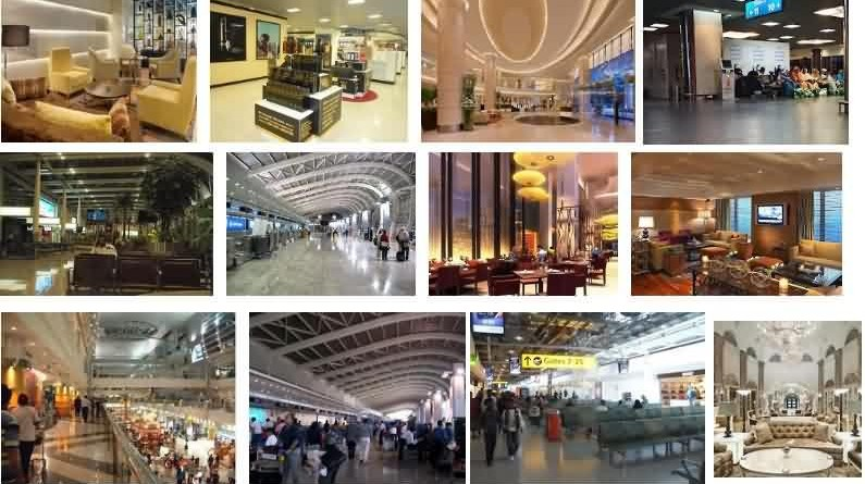 Domestic and International Airport Lounges