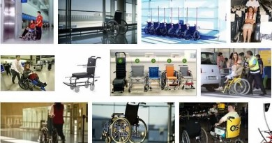 Domestic and International Airport Wheelchair Facilities