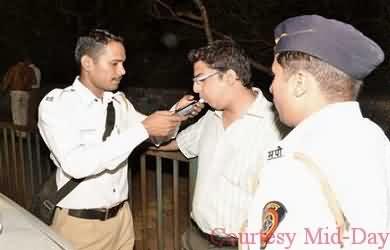 Anti Drink Drive Mission - Traffic Police Mumbai