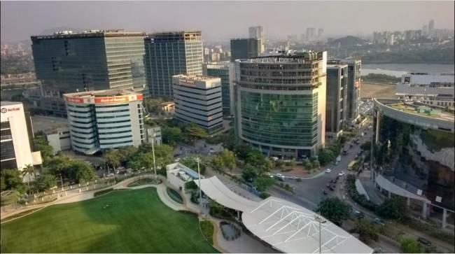 Bandra BKC Aerial View