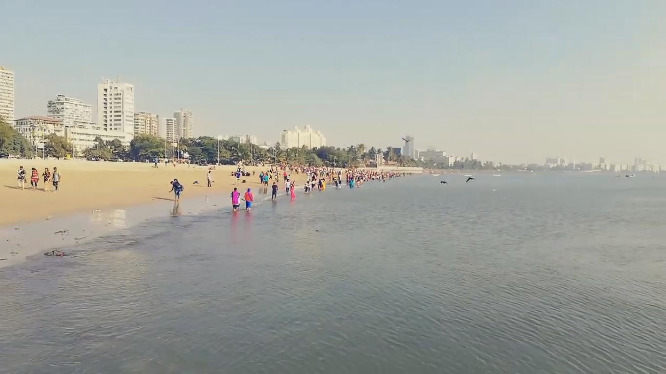 Chowpatty Beach Water