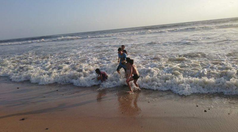 Beach Water Safe Bath