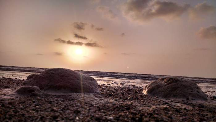 Beautiful Sunset at Bordi Beach