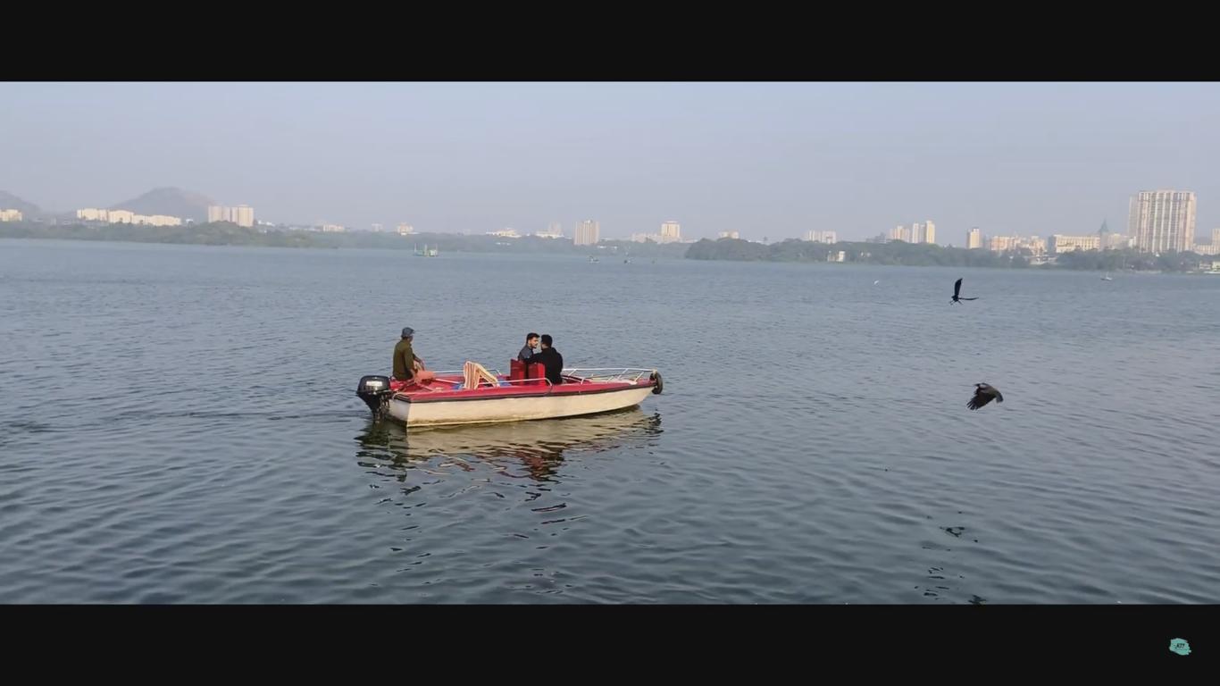 Boating Inside Powai Lake