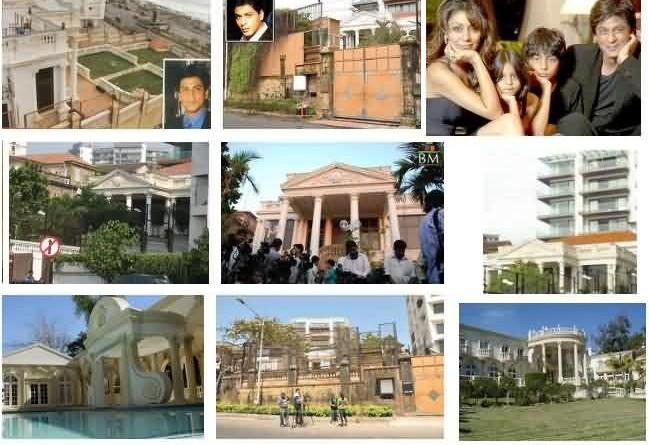 Home Address Of Bollywood Stars Mumbai Residential