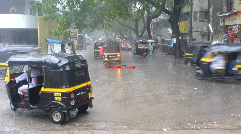 Mumbai Monsoon Street View