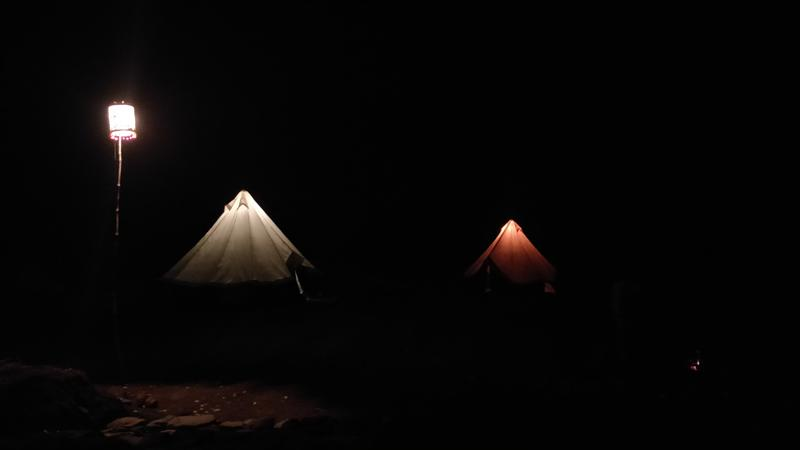 Vandri Camping Night View