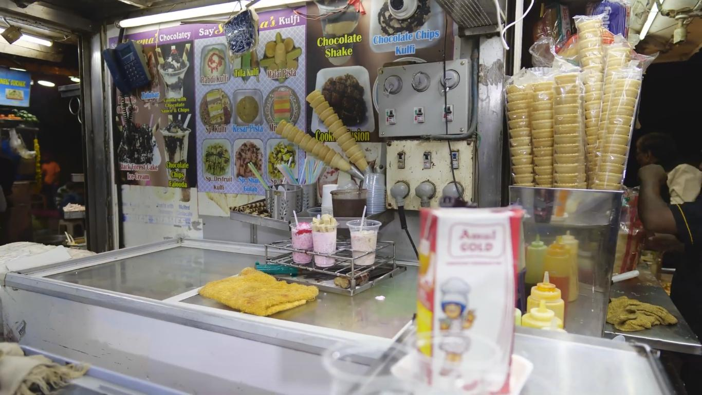 Chowpatty Ice Cream Shop