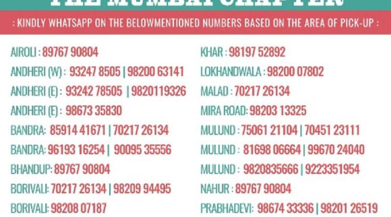 Contact Number Mumbai