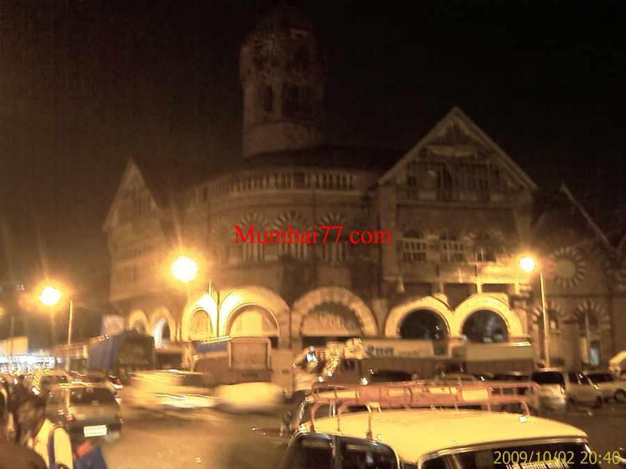 Crawford Market at Night