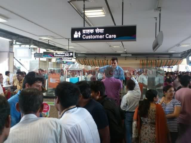 Metro Customer Care Window