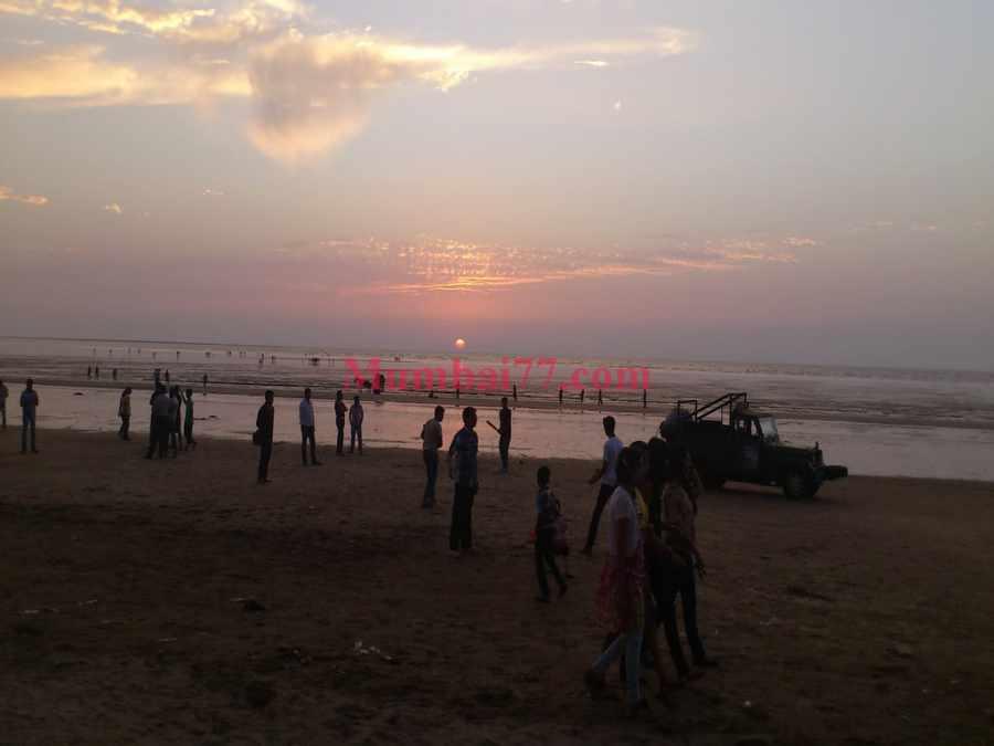 Daman Beach Sunset