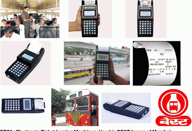 ETIM Machines For Bus Ticketing