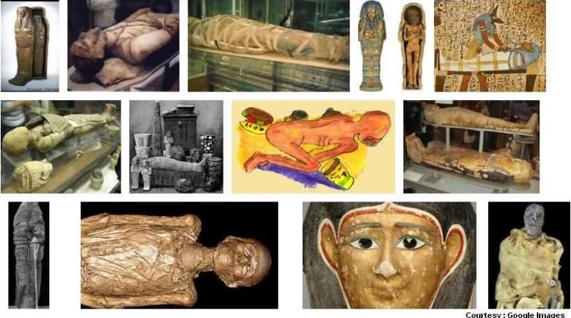 Egyptian Mummies Exhibition at Bombay Museum