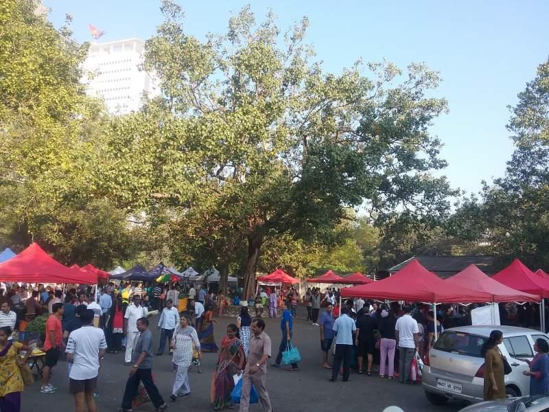 Farmers Market Vidhan Bhavan