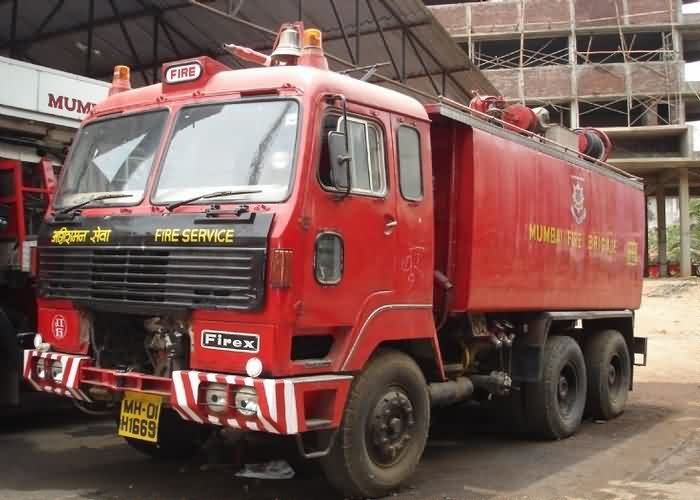 Fire Brigade in Mumbai
