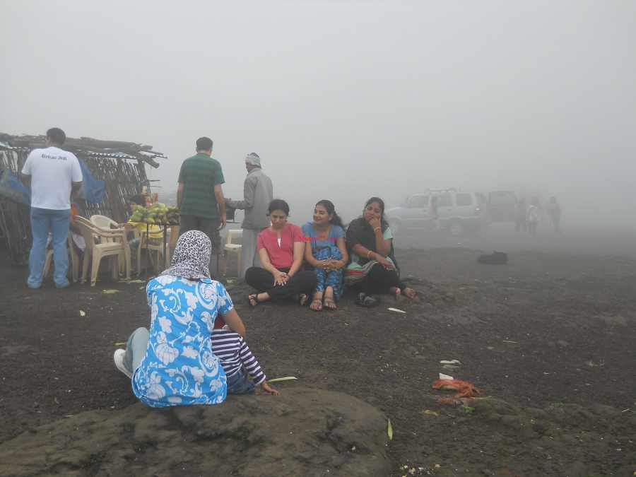 Foggy Climate at Lonavala