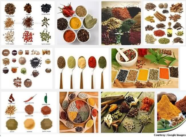 Food Spices in City