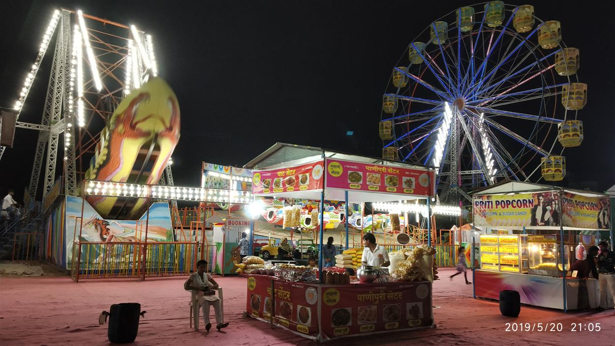 A Typical Looks of Food Stall Inside Mela