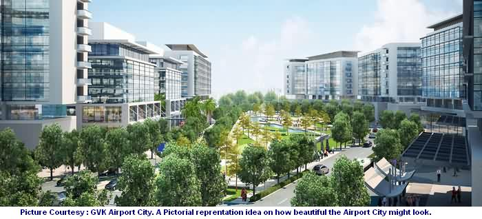 Upcoming GVK Airport City
