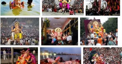 Ganpati Festival View Of Mumbai Streets