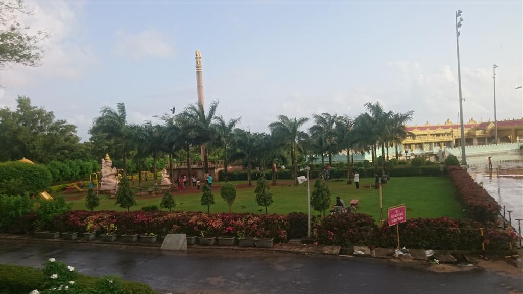 Garden Inside Pagoda