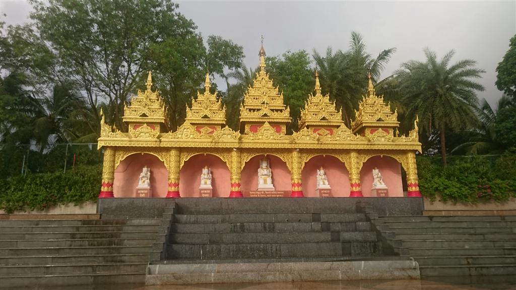 Gods Watching and Blessing Borivali Pagoda