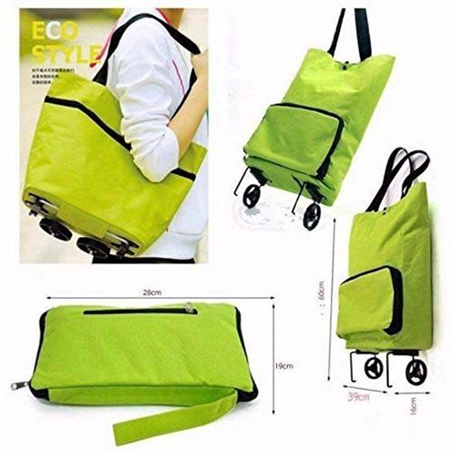 Green-Shopping-Trolley-Bag-Foldable