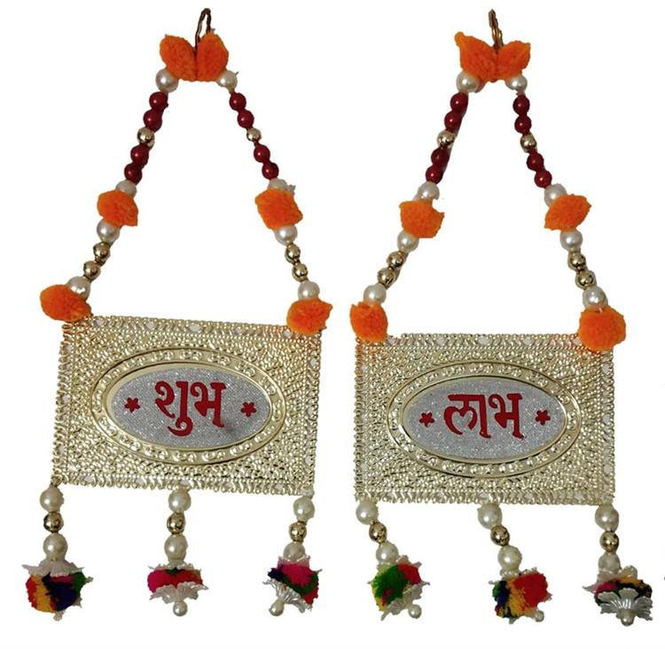 Hanging Shubh Labh Hindi