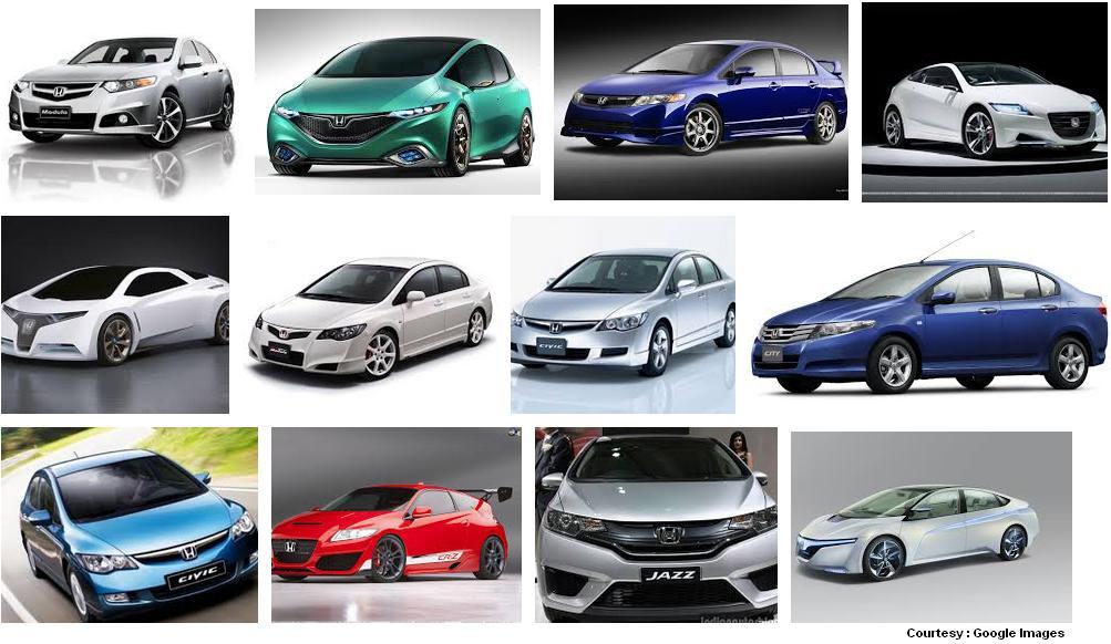 Honda Cars Honda Cars In India - All honda cars in india