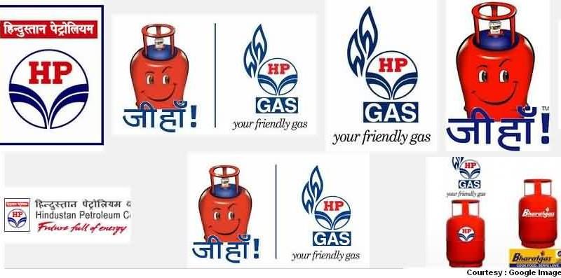 HP LPG Gas Logo