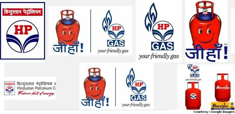 HP LPG Gas Logo