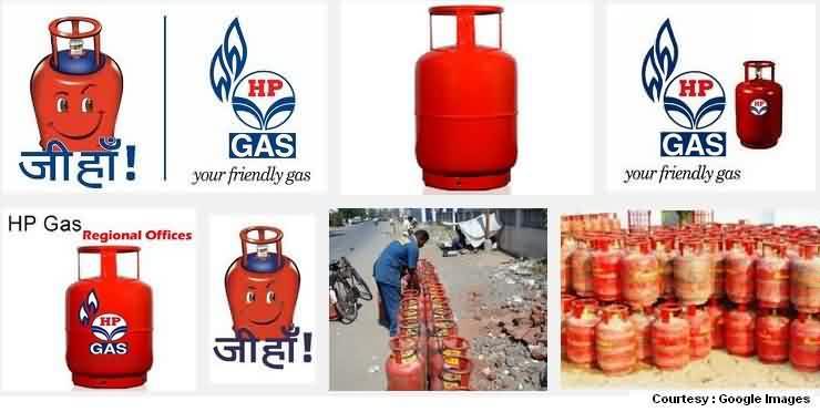 HP LPG Gas Cylinder