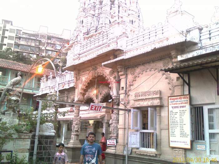 Inside Babulnath Temple