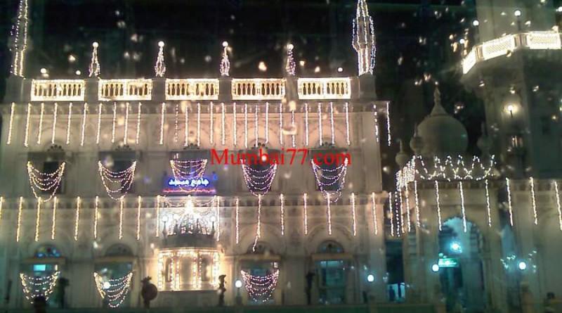 Jama Masjid Bandra at Night