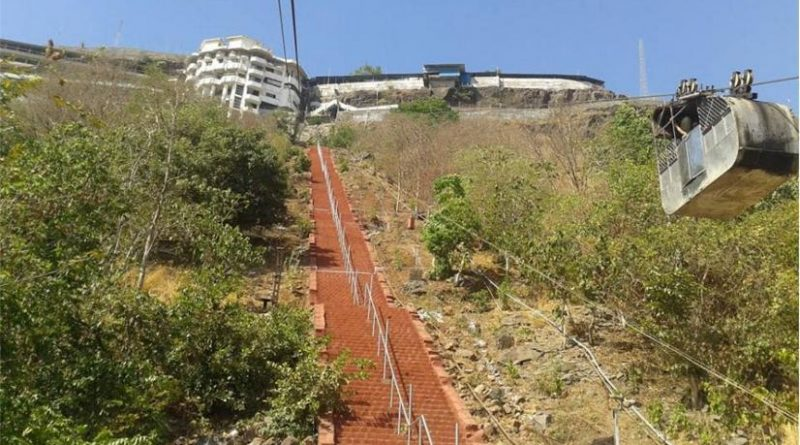Jivdani Temple New Foot Steps