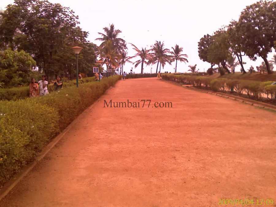 Jogging Track Inside Park