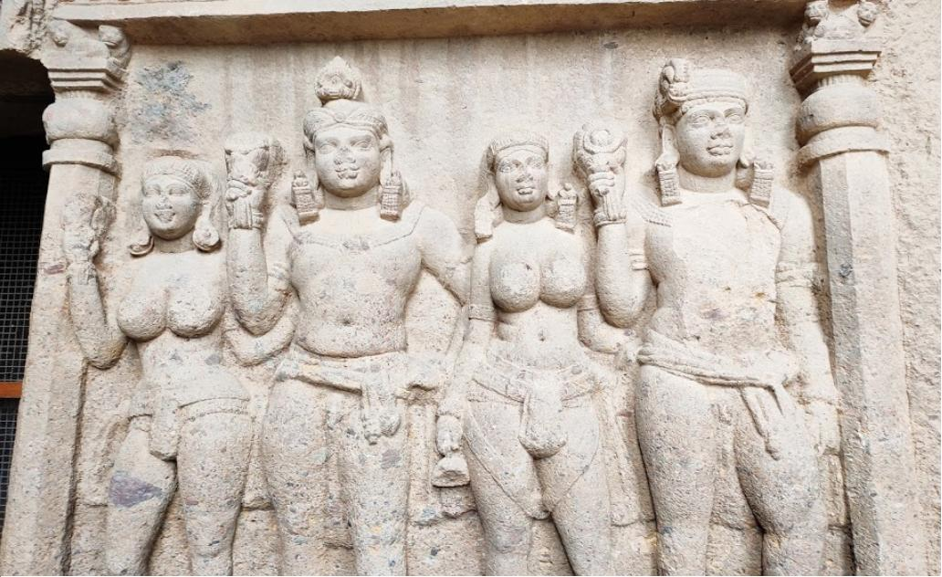 Kanheri Caves Carvings
