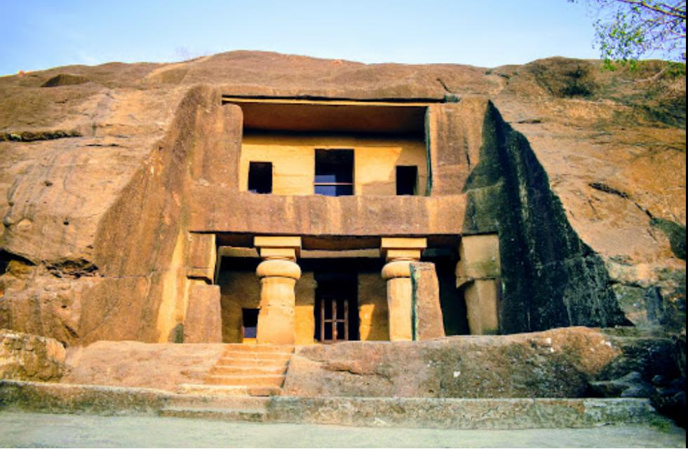Kanheri Caves Front View