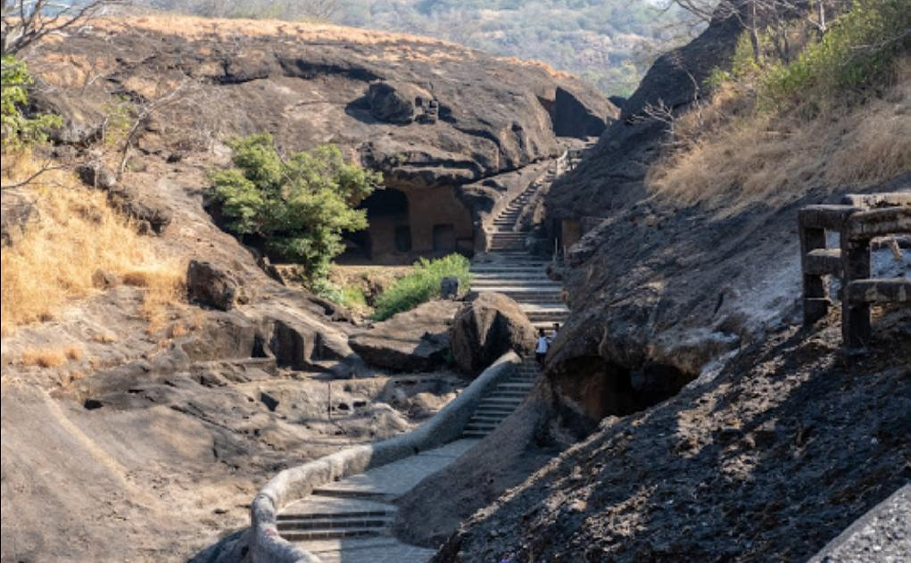 Kanheri Caves Full View