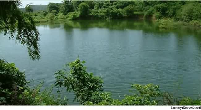 Lake at Keshav Srushti