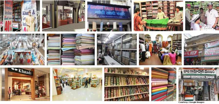 Typical Khadi Stores