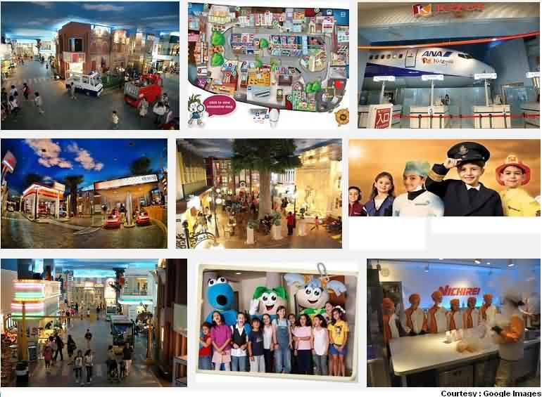 kidzania theme park for kids at rcity ghatkopar mumbai kidzenia mumbai